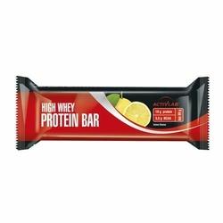 ACTIVLAB High Whey Protein Bar - 24x 80g - Lemon