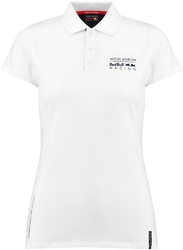 Koszulka polo damska aston martin red bull racing seasonal - granatowy || biały