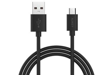 Aukey cb-d9 kabel micro usb ultraszybki quick charge 2.0 czarny - czarny