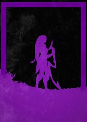 League of legends - diana - plakat wymiar do wyboru: 70x100 cm