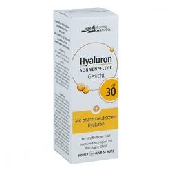 Medipharma hyaluron krem przeciwsłoneczny do twarzy spf30+