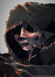 Polyamory - the ashen one, dark souls - plakat wymiar do wyboru: 40x60 cm