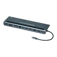 I-tec stacja dokująca usb-c metal low profile 4k triple 1x hdmi 1x vga 1x displayport 1x ethernet 1x audio power delivery 85w