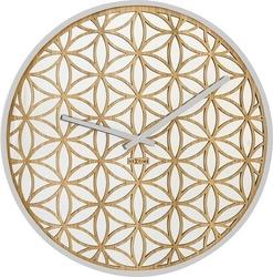 Zegar ścienny bella mirror biały