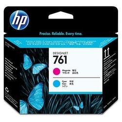 Hp 761 głowica drukująca designjet: purpurowybłękitny