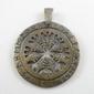 Tarcza algizowa - runiczny krąg ochronny - brąz