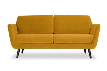 Sofa aster welur bawełna 100 musztardowy 2219
