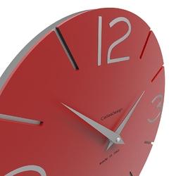 Zegar ścienny smile calleadesign terakota 10-005-24