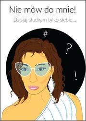 Siebie - plakat wymiar do wyboru: 20x30 cm
