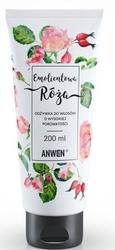 Anwen emolientowa odżywka do włosów o wysokiej porowatości róża 200ml