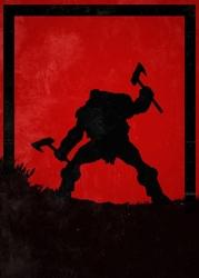 For honor - berserker - plakat wymiar do wyboru: 21x29,7 cm