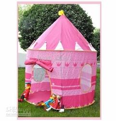 Pałac - Zamek dziecięcy namiot Różowy