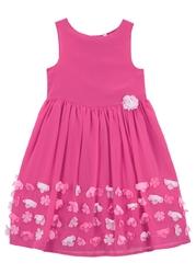 Sukienka dziewczęca na uroczyste okazje bonprix różowa magnolia