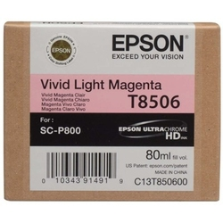 Tusz oryginalny epson t8506 c13t850600 jasny purpurowy - darmowa dostawa w 24h