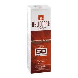 Heliocare color gelcream, brązowy spf 50
