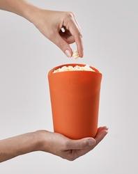 Silikonowe misy do przygotowania popcornu w mikrofali m-cuisine joseph joseph 45018