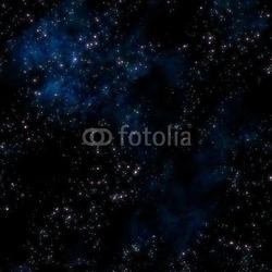 Obraz na płótnie canvas czteroczęściowy tetraptyk głęboka przestrzeń