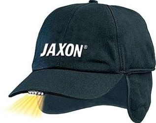 Czapka z latarką w daszku osłoną na uszy jaxon uj-czx02a