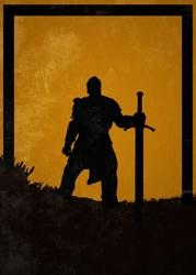 For honor - warden - plakat wymiar do wyboru: 50x70 cm