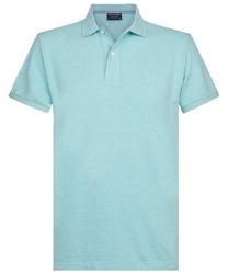 Męska koszulka polo profuomo niebieska s