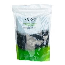 Depilflax 100 wosk film wax perełki czarne 1000g