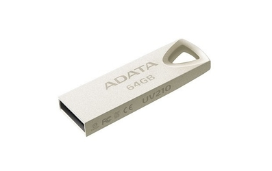 Adata dashdrive uv210 64gb usb metallic alu