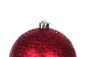 Bombki choinkowe 10 cm czerwone mix wzorów