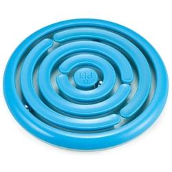 Niebieski labirynt z kulką gra sprawnościowa