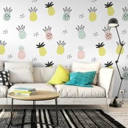 Tapeta na ścianę - fruity softness , rodzaj - próbka tapety 50x50cm