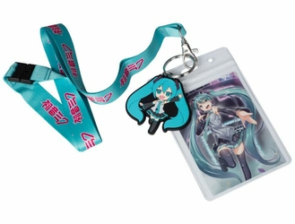 Hatsune Miku - smycz do kluczy