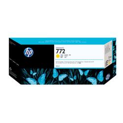 Żółty wkład atramentowy HP 772 DesignJet 300 ml