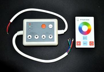 Sterownik RGB 144W pilot dotykowy - 4 przyciski, radiowy - SY