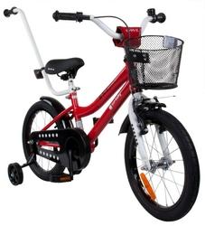Sun baby junior bmx 16 czerwony rowerek dla dziecka + prezent 3d