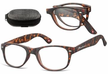 Składane asferyczne okulary do czytania montana mfr61a