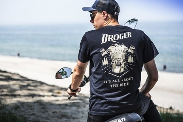 Broger t-shirt dark blue