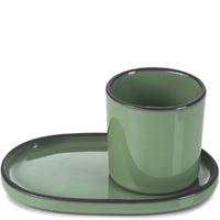 Filiżanka do espresso porcelanowa 80 ml caractere revol miętowa rv-652688-4