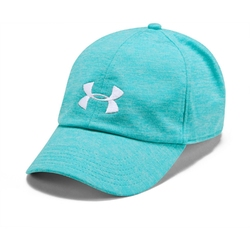 Czapka damska under armour twisted renegade cap - niebieski