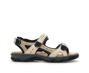 Sandały damskie rie 68872 beż