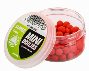 Mini Boilies Method Feeder Red Halibut 50g Carpio