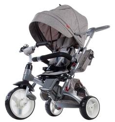Sun baby little tiger grey rowerek trójkołowy 6w1 + prezent 3d