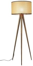 Zuiver :: lampa podłogowa metalowa tripod brązowa