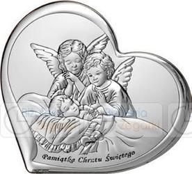 Obrazek bc64512 dwa aniołki 11 x 9,6 cm