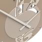 Zegar ścienny ethnic calleadesign terakota 10-109-24