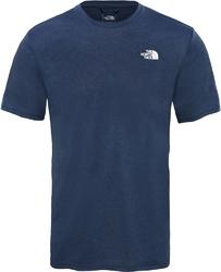 T-shirt męski the north face train n logo hybrid t93uwravm