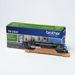 Brother oryginalny toner TN243C, cyan, 1000s, Brother DCP-L3500, MFC-L3730, MFC-L3740, MFC-L3750