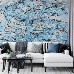 Tapeta na ścianę - abstract splash art , rodzaj - tapeta flizelinowa laminowana