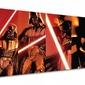Star wars gwiezdne wojny darth vader pose - obraz na płótnie