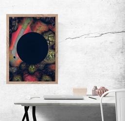 Pustka - plakat premium wymiar do wyboru: 29,7x42 cm