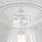 Fototapeta klatka schodowa w polskim pałacu. zamek królewski w warszawie