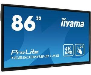 IIYAMA Monitor interaktywny 86 TE8603MIS-B1 INFRARED,4K,247,USB